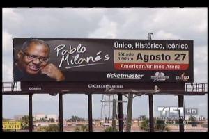 Pablo Milanes Billboard Miami