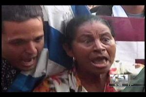 Turbas Castristas hostigan a Damas de Blanco